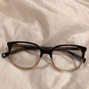 Warby Parker glasses, no prescription, never worn
